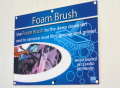 D&S Foam Brush Bay Signage