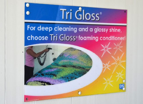 TriGloss In Bay Signage