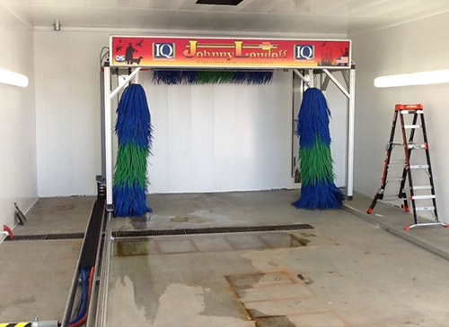 Testing of the IQ Car Wash System, both equipment and software, is the final step.