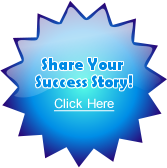 Share your success story here button