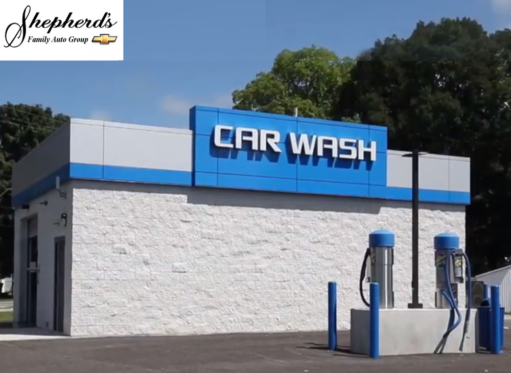 Shepherd S Chevrolet North Manchester In D Amp S Car Wash